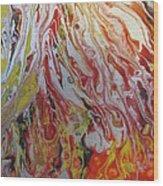 Revelation Wings Wood Print