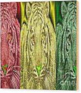 Revolutionary Tigre Ital Wood Print