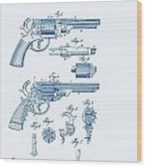 Revolver Patent E.t Starr Wood Print