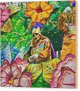 Rex Mardi Gras Parade X Wood Print