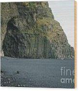 Reynisfjara Beach - Iceland Wood Print