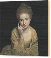 Reynolds, Sir Joshua 1723-1792. Studio Wood Print