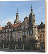 Rezidenzschloss - Dresden  -  Germany Wood Print