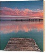 Rgb Sunset Wood Print