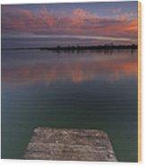 Rgb Sunset II Wood Print