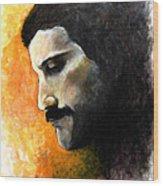 Rhapsody - Freddie Mercury Wood Print