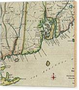 Rhode Island 1780 Wood Print