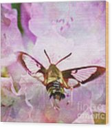 Rhododendron Dreams Wood Print