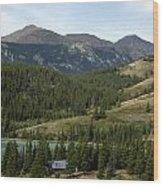 Ribbon Creek Rec Area Wood Print