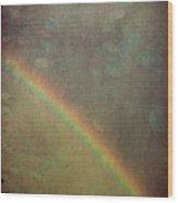 Ribbon Of Rain  Wood Print