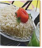 Rice And Caipirhina Wood Print