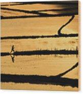 Rice Wood Print