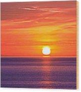 Rich Sunset Wood Print