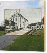 Richard Gambrell Residence In Newport Rhode Island Wood Print