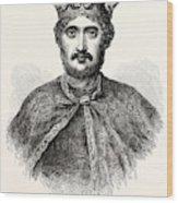 Richard I Wood Print