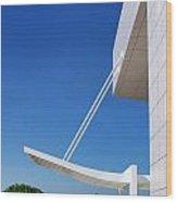 Richard Meier's Getty  Architecture Iv Wood Print