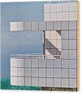 Richard Meier's Getty Wood Print