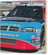 Richard Petty Driving School Nascar  Wood Print