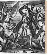 Richard Worley (c1686-1719) Wood Print
