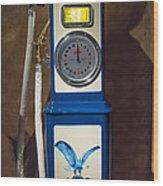 Richfield Gas Pump Wood Print