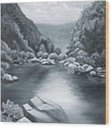 Richland Creek Wood Print