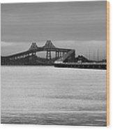 Richmond San Rafael Bridge Wood Print