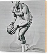 Rick Barry Wood Print