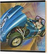 Rick In His 1958 Echidna Wood Print