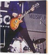 Rick Nielsen Cheap Trick Wood Print