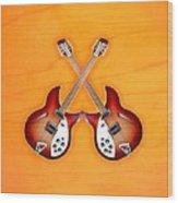 rickenbacker 12-S guitar Wood Print