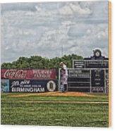 Rickwood Classic Baseball - Birmingham Alabama Wood Print