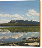 Riddle Lake Wood Print