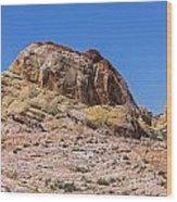 Ridge Of Stone Wood Print