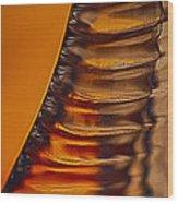 Ridges Wood Print by Omaste Witkowski
