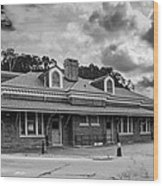 Ridgway Depot 3518b Wood Print