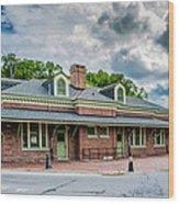 Ridgway Depot 3518c Wood Print