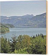 Riffe Lake Wood Print