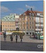 Riga Old Town 3 Wood Print