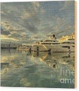 Rijeka Yachts  Wood Print