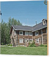 Rika's Roadhouse In Big Delta State Historical Park-ak Wood Print
