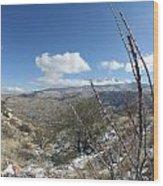 Rincon Valley Wood Print