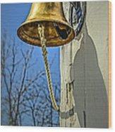 Ring My Bell Wood Print