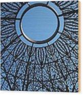 Ring Of Sky Wood Print