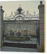 Ringling Gate Wood Print