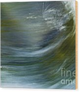 Rio Caldera Flow 2 Wood Print