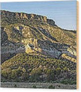 Rio Chama Valley Wood Print