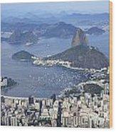Rio De Janeiro 1 Wood Print