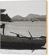 Rio De Janeiro - Niteroi Wood Print