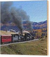 Rio Grande 488 And 489 Wood Print