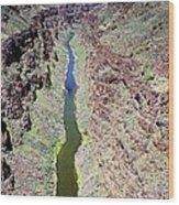 Rio Grande Gorge Wood Print
